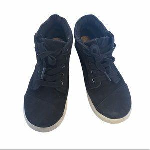 Black High Top Toms Y13